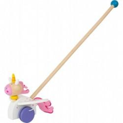 jucarie de impins unicorn