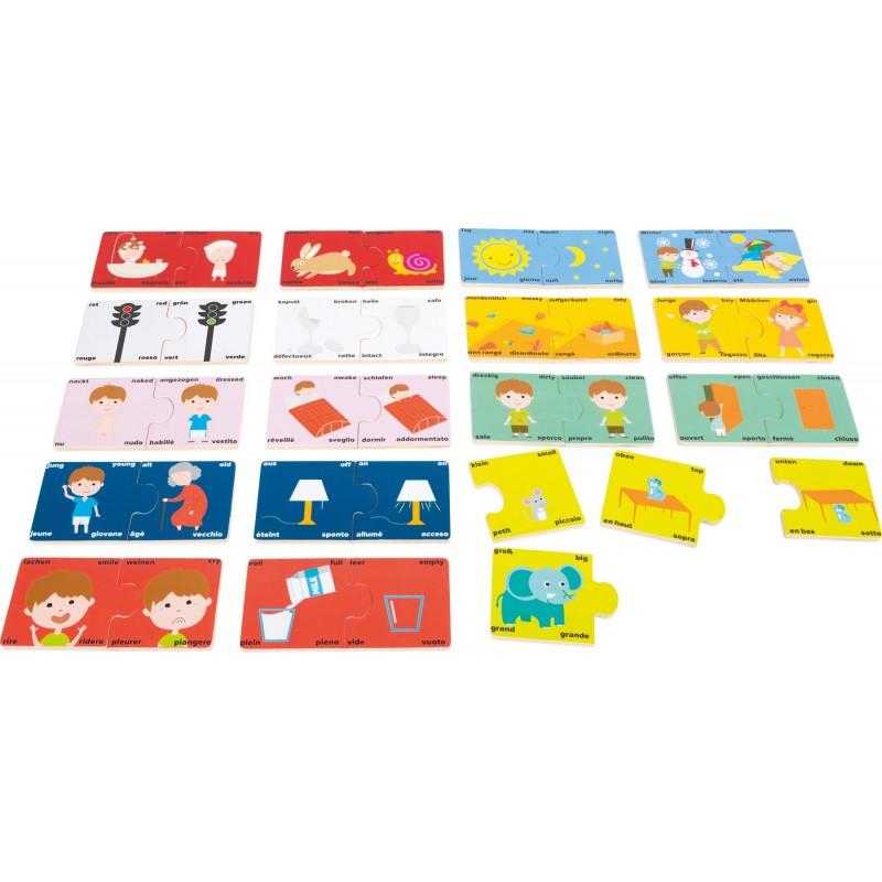puzzle invata antonimele
