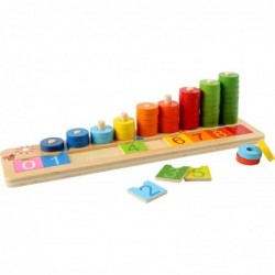 numaratoare cu inele colorate joc educativ