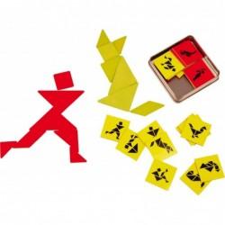 joc tangram pentru 2