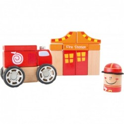 cuburi de constructiebrigada de pompieri