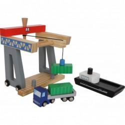 terminal de incarcat container cu magneti