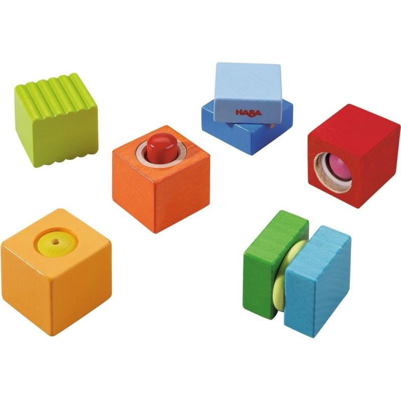 blocuri din lemn cu sunete distractive haba