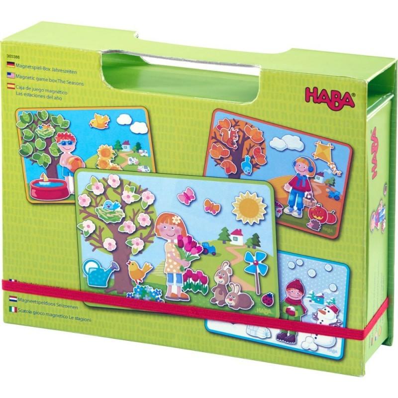 cutie cu joc magnetic- anotimpurile anului