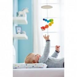 omida coloratacarusel pentru bebelusi