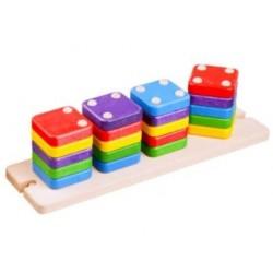 Puzzle cu alfabet magnetic...