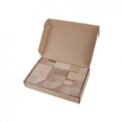 cuburi din lemn, 30 piese