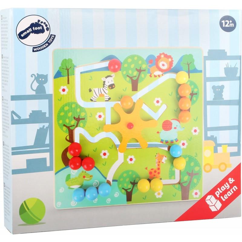 puzzle interactiv savana