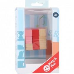 Cuburi din lemn colorate,...