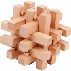 Cuburi din lemn natur 100...