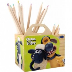 cutie pentru creioane shaun and sheep