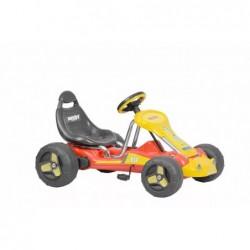 kart cu pedale si actionare pe lant pentru copii hecht