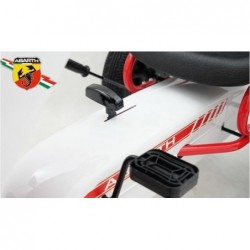 kart cu pedale abarth white