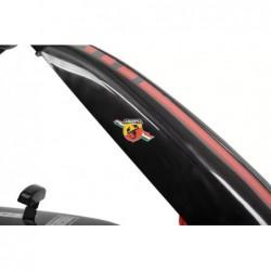 kart cu pedale abarth black asseto 500