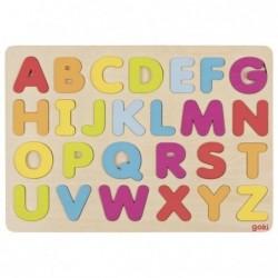 litere alfabet din lemn goki