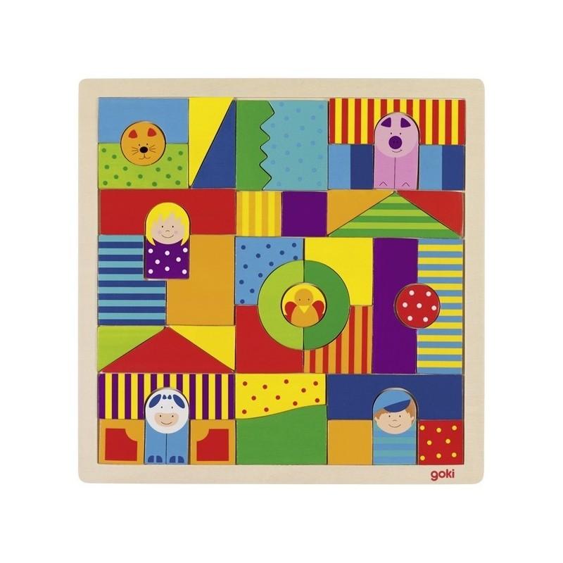 puzzle cu ferma 43 piese