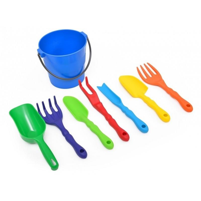 set de unelte de gradina pentru copii 8 tipuri