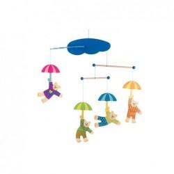 carusel ursuleti cu umbreluta