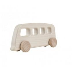 autobuz vintage alb