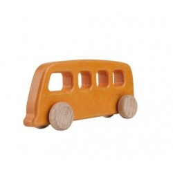 autobuz vintage orange