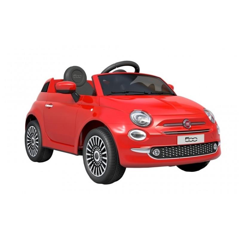 masina pentru copii hecht fiat 500-red