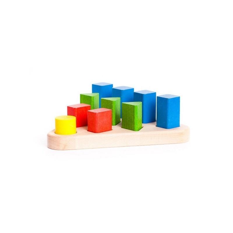 potrivire forme geometrice colorate