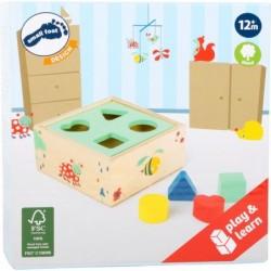 puzzle 4 cuburi cu animale