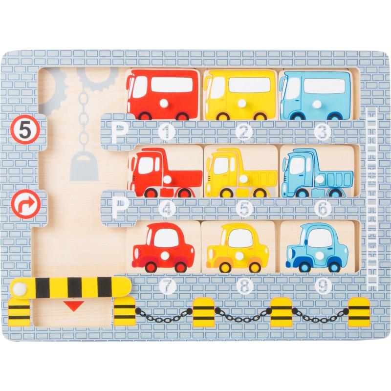 puzzle masini parcare